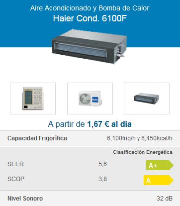 Haier Cond. 6100F