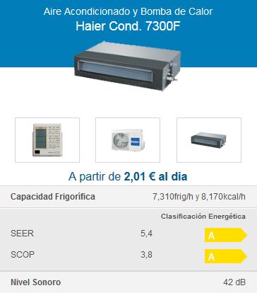 Haier Cond. 7300F